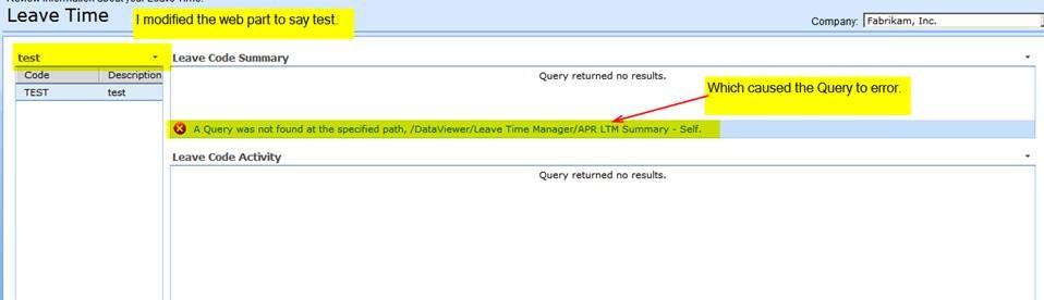 CLM Query Error Image 1