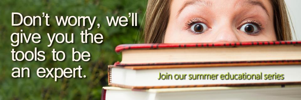 Summer Educational Series Banner Blog Post