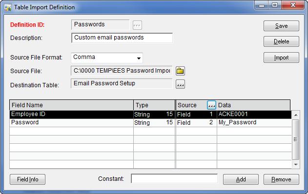 EES Passwords 5