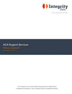 ACA Support Services