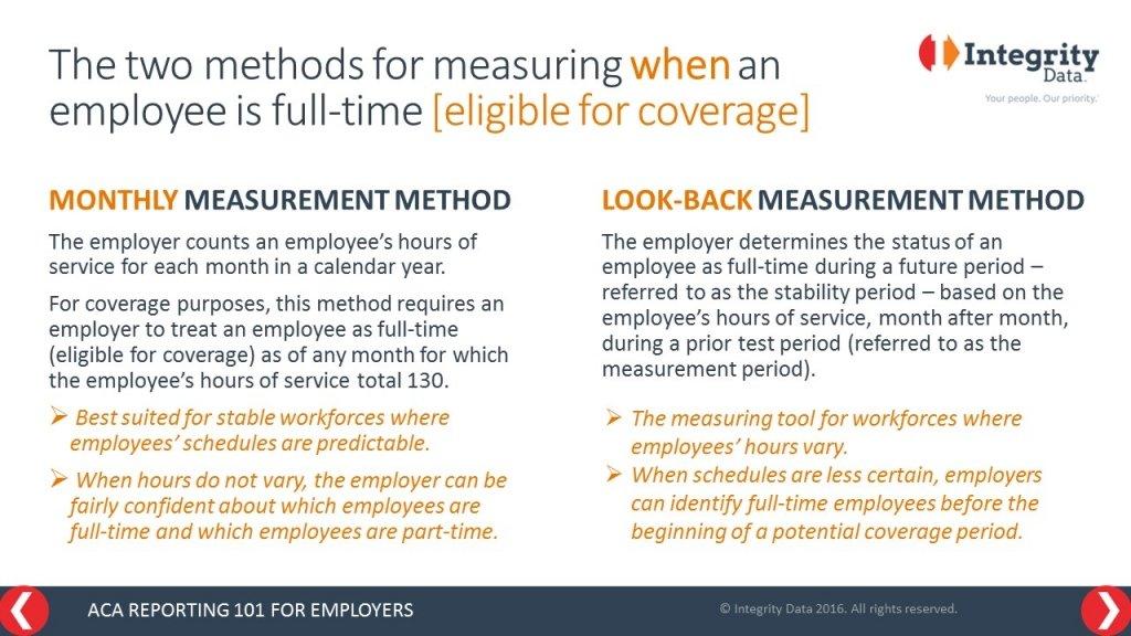 ACA measurement methods_Integrity Data ACA Compliance Solution
