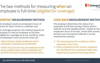 ACA eligibility-testing methods_Integrity Data ACA Compliance Solution