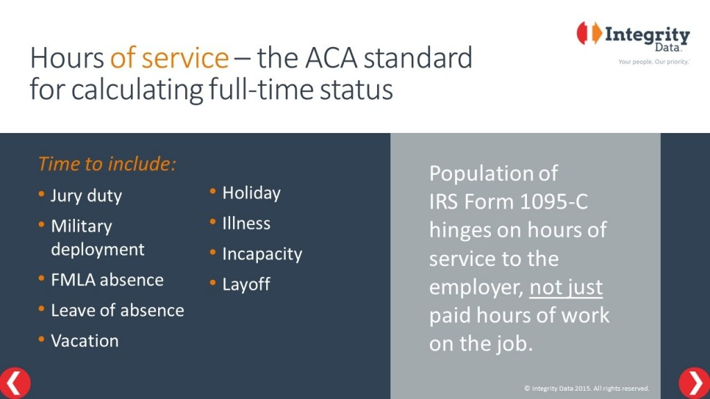 Hours of service_Integrity Data ACA Compliance Solution