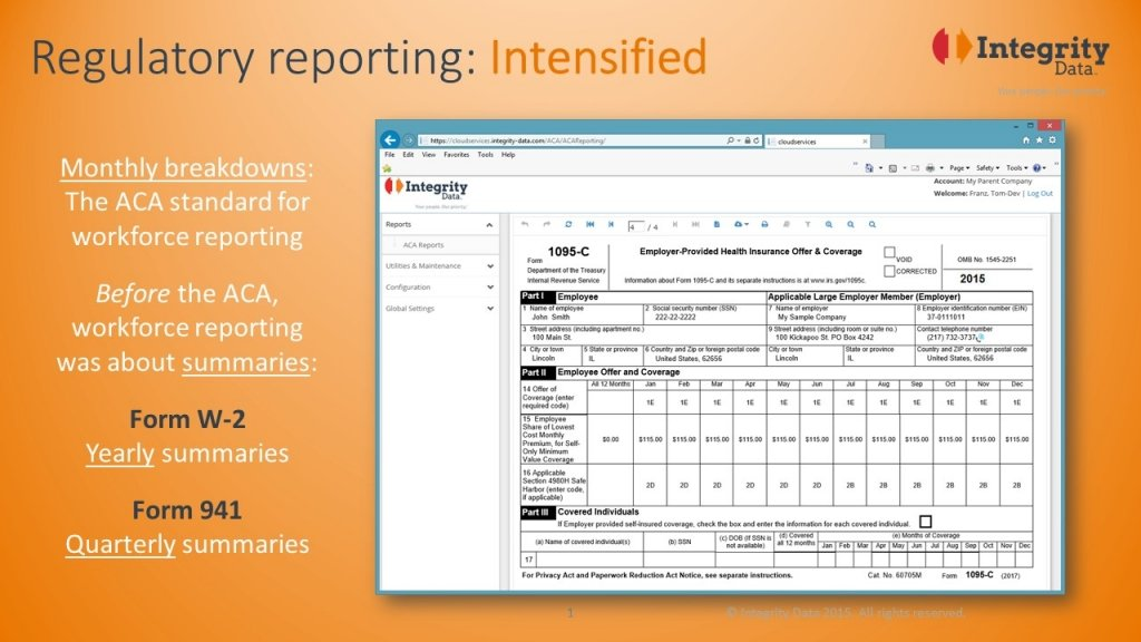 1095-C: Regulatory reporting intensified_Integrity Data ACA Compliance
