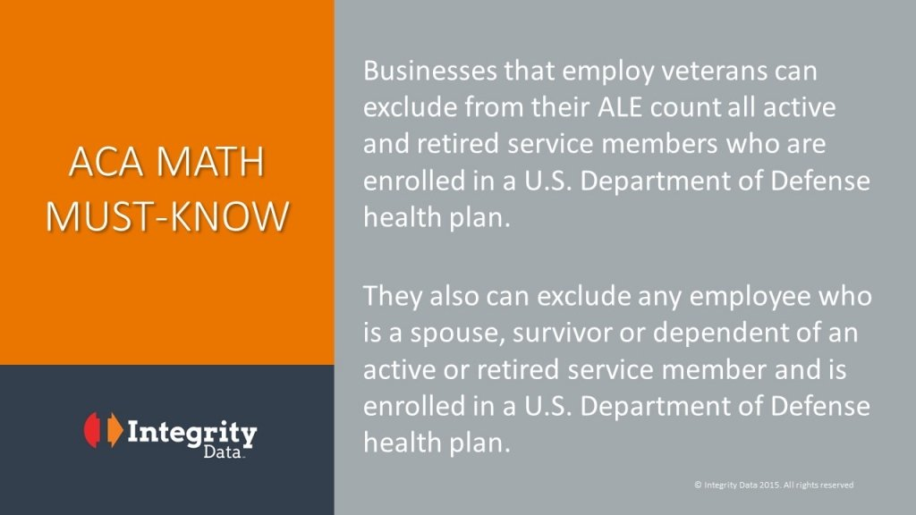 ACA math to check need for compliance_veterans_Integrity Data
