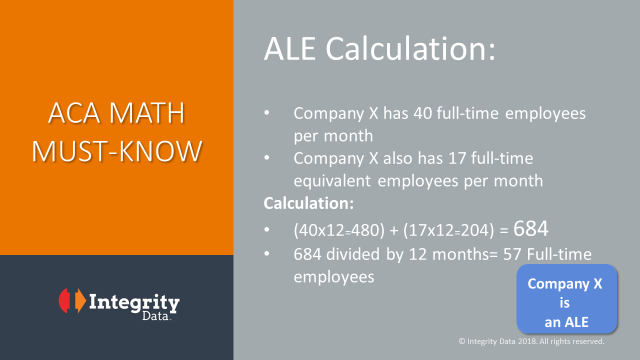 ACA Math_ALE Calculation_Integrity Data