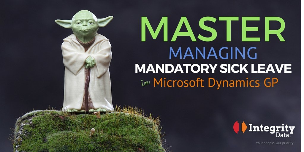 Master Managing Mandatory Sick Leave in Microsoft Dynamics GP