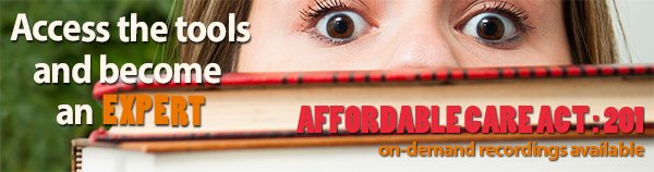 ACA Summer Educational Series Banner