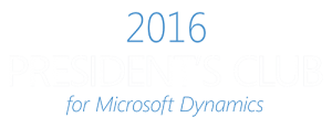 Integrity Data is a part of 2016 President's Club for Microsoft Dynamics