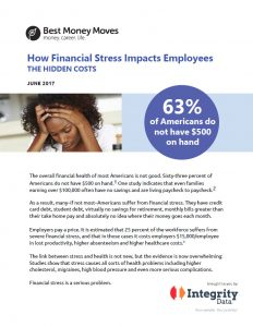 Download the How Financial Stress Impacts Employees white paper