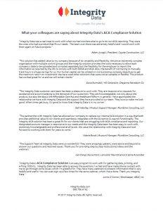 ACA Compliance Solution Client Successes
