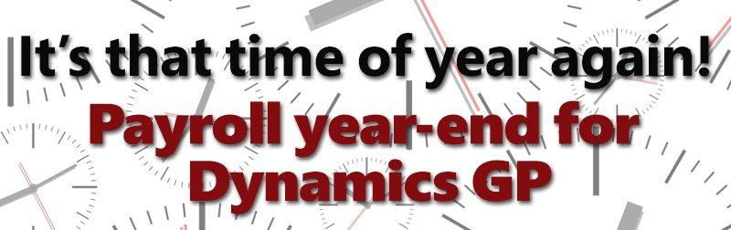 Payroll year-end for Dynamics GP