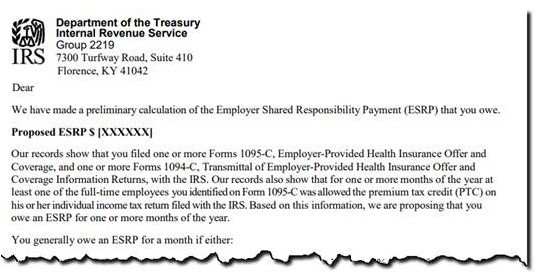 "Have you received an ACA ""love letter"" from the IRS?"