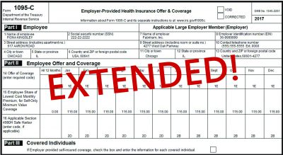 irs extends 1095 c deadline for 2017 reporting