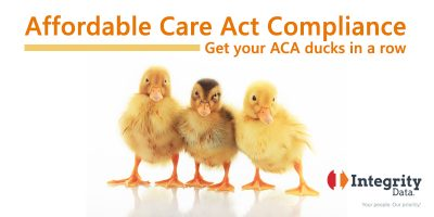 Affordable Care Act Compliance Get your ACA ducks in a row image