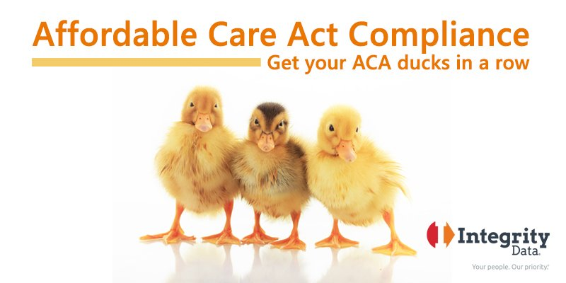 Affordable Care Act – Get your ACA ducks in a row