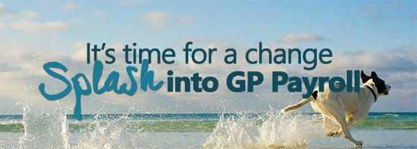 Splash into Dynamics GP Payroll Webinar Series Image