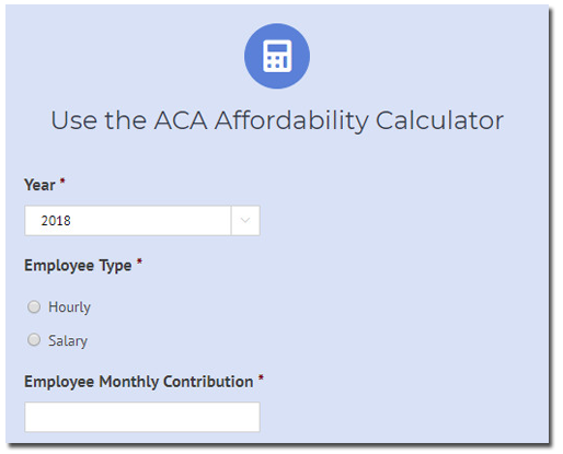 Complete Guide to 2019 ACA Affordability Percentages
