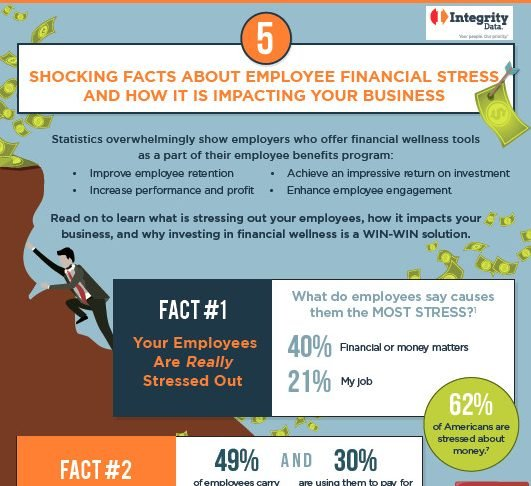 Integrity Data Financial Wellness infographic