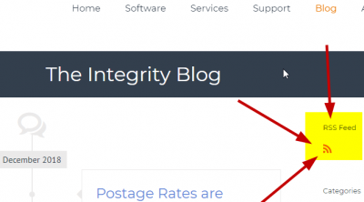 Get the latest updates from the Integrity Data Blog
