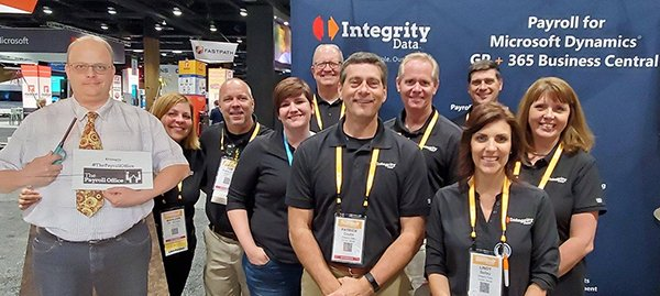 The Integrity Data team pictured at User Group Summit