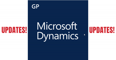 October 2019 Dynamics GP Releases and Integrity Data Product Updates