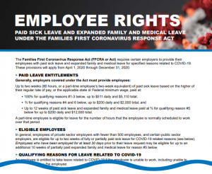 Employee Rights Coronavirus Paid Leave Law Image