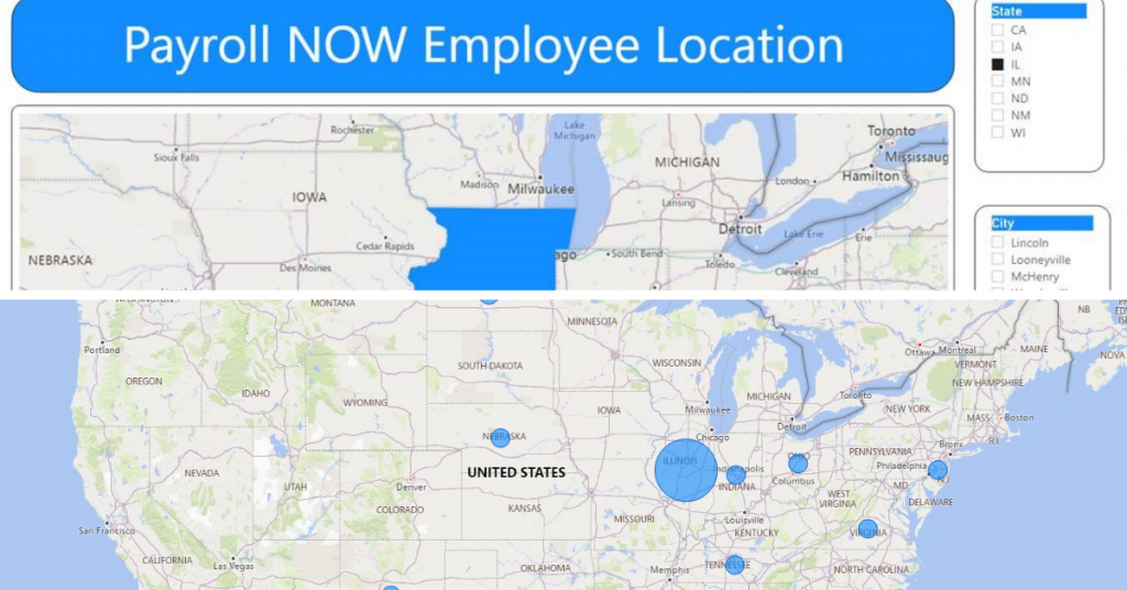 Power BI Power View and Map